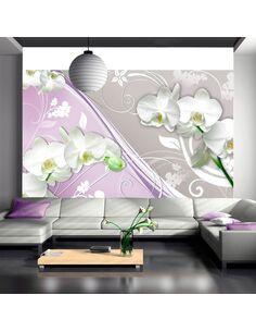 Papier Peint Ambivalent Mind  Orchidées Artgeist