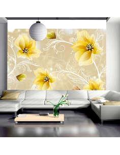 Papier peint MYSTERIOUS FUN III - Motifs floraux par Artgeist