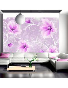 Papier peint MYSTERIOUS FUN - Motifs floraux par Artgeist