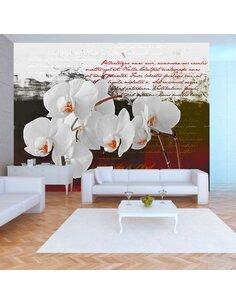 Papier peint DIARY AND ORCHID - par Artgeist