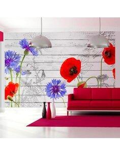 Papier peint WILDFLOWERS - par Artgeist