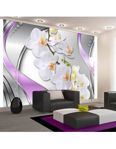 Papier Peint Dreamy Journey  Orchidées Artgeist