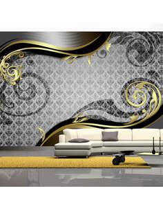 Papier peint GOLDEN SNAIL - par Artgeist