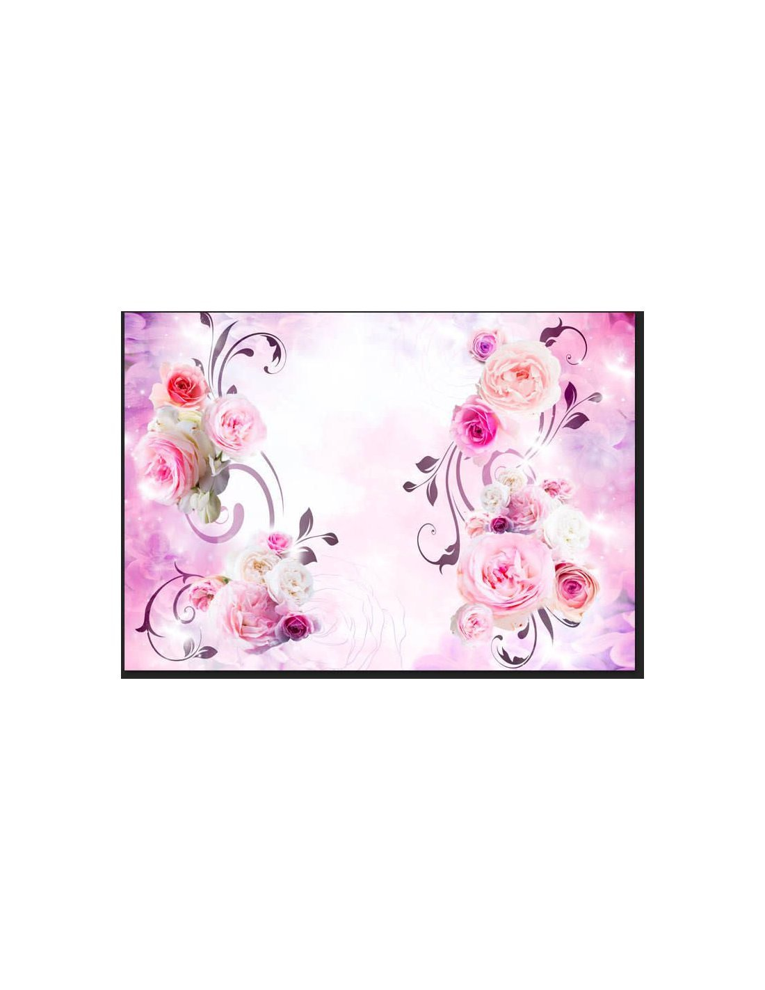 papier peint rose variations artgeist. Black Bedroom Furniture Sets. Home Design Ideas