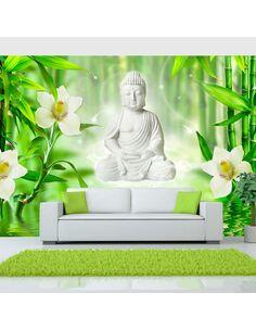 Papier peint BUDDHA AND NATURE - par Artgeist