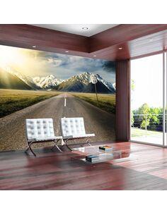 Papier peint THE LONG ROAD - par Artgeist