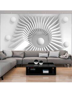 Papier peint WHITE JIGSAW - par Artgeist