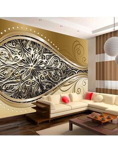 Papier peint GOLDEN EYE - par Artgeist