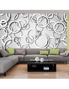Papier peint VICIOUS CIRCLES - par Artgeist