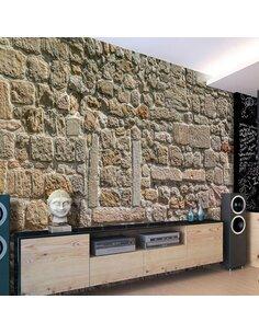 Papier peint WALL FROM STONES - par Artgeist