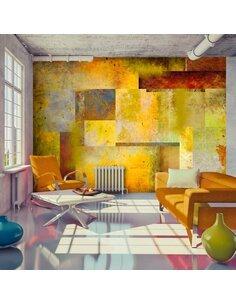 Papier peint ORANGE HUE OF ART EXPRESSION - par Artgeist