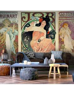 Papier peint ALPHONSE MUCHA. WOMEN'S - par Artgeist