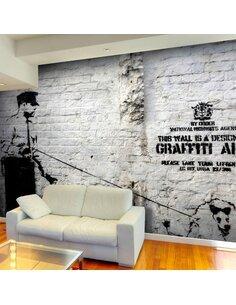 Papier peint BANKSY GRAFFITI AREA - par Artgeist