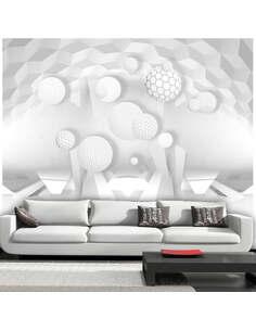 Papier peint CIRCLES IN THE SPACE - par Artgeist