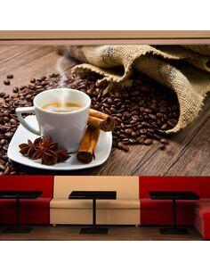 Papier peint STAR ANISE COFFEE - par Artgeist