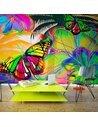 Papier peint BUTTERFLIES IN THE STOMACH - par Artgeist