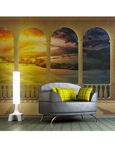 Papier peint DREAM ABOUT MAGICAL FIELDS - par Artgeist