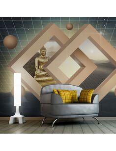 Papier peint NEW DIMENSION OF BUDDHISM - par Artgeist