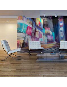 Papier peint NEW YORK, DYNAMISME ET COULEURS - par Artgeist
