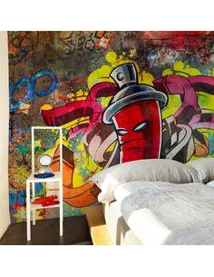 Papier peint GRAFFITI MONSTER - par Artgeist