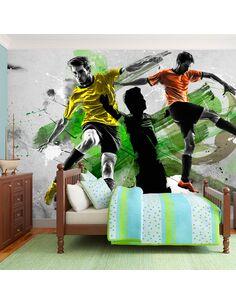 Papier peint STARS DU FOOTBALL - par Artgeist