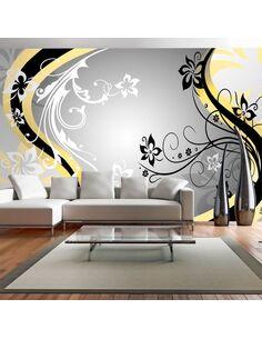 Papier peint grand format ART-FLOWERS YELLOW - par Artgeist