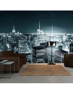 Papier peint grand format VIE NOCTURNE À NEW YORK - par Artgeist