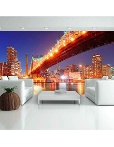Papier peint grand format QUEENSBOROUGH BRIDGE NEW YORK - par Artgeist