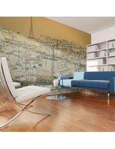 Papier peint grand format BONNE NUIT PARIS ! - par Artgeist