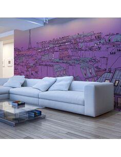 Papier peint grand format VENDREDI SOIR À PARIS - par Artgeist