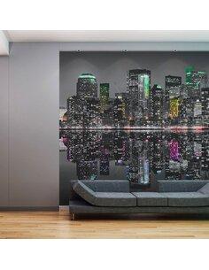 Papier peint grand format LIEU OÙ LES RÊVES DEVIENNENT RÉALITÉ NYC - par Artgeist
