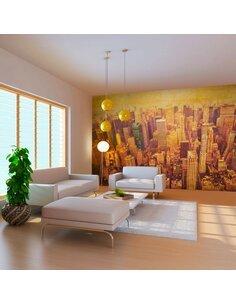 Papier peint grand format NEW YORK CITY EN SÉPIA - par Artgeist