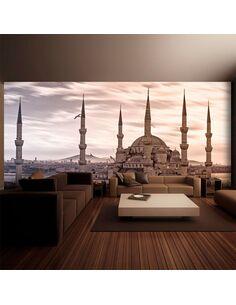 Papier peint grand format LA MOSQUÉE BLEUE, ISTANBUL - par Artgeist