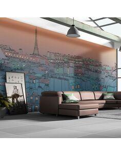 Papier peint grand format BONSOIR PARIS ! - par Artgeist