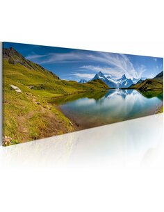 Tableau MOUNTAIN LAKE - par Artgeist