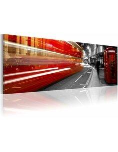 Tableau panoramique LONDON RUSH HOUR - par Artgeist