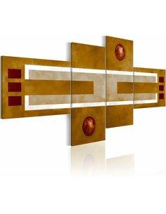Tableau - 4 tableaux - Sienna Modernes Artgeist