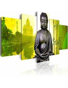 Tableau - 5 tableaux - Bouddha II Zen Artgeist