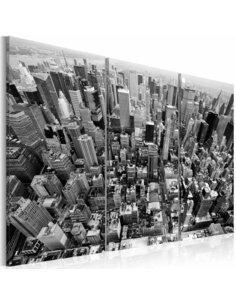Tableau VUE MAGNIFIQUE SUR NEW YORK - par Artgeist