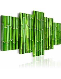 Tableau - 5 tableaux - Bambou - harmonie et simplicité - par Artgeist