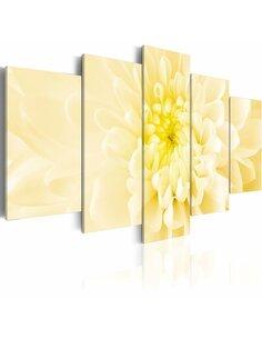 Tableau - 5 tableaux - Simplicité et beauté - Dahlie - par Artgeist