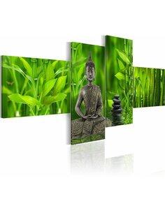 Tableau - 4 tableaux - Calme, réconfort, harmonie - Zen - par Artgeist
