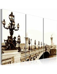 Tableau BALADE ROMANTIQUE À PARIS - par Artgeist