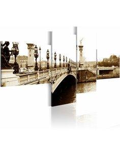 Tableau PONT ALEXANDRE-III À PARIS - par Artgeist