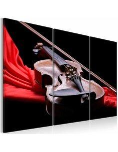 Tableau Triptyque - Jeu du violon - par Artgeist