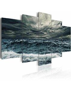 Tableau - 5 tableaux - Tempête arrive Mer Artgeist