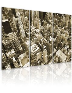 Tableau NEW YORK VUE D' OISEAU - par Artgeist