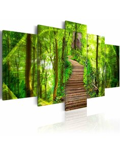 Tableau - 5 tableaux - Porte du paradis - par Artgeist