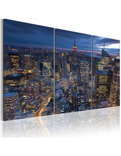 Tableau VUE D'EN HAUT NEW YORK - par Artgeist