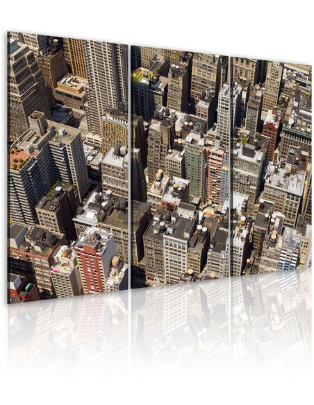 Tableau GRATTE-CIELS À NEW YORK - par Artgeist